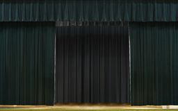 Green Stage Royalty Free Stock Image