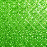 Green of Stained glass Royalty Free Stock Photography