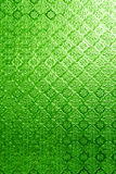 Green of Stained glass Stock Images