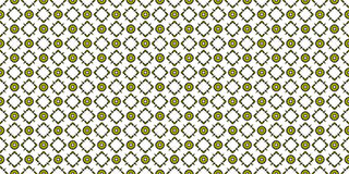 Green stained glass ornamental pattern. Kaleidoscopic orient popular style Stock Photography