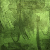 Green stained paper Stock Photography