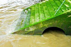 Green stairway Royalty Free Stock Photography