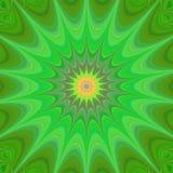 Green star background design vector Stock Image