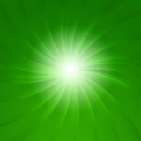 Green star burst Royalty Free Stock Photo