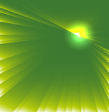 Green star burst background Royalty Free Stock Photo