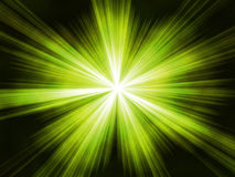 Green star Royalty Free Stock Image