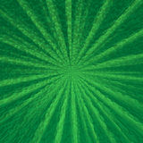 Green star cloven background Royalty Free Stock Photos