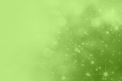 Green Star Fade Background Stock Images