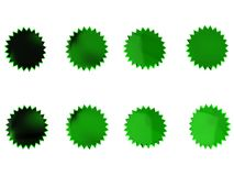 Green Stars Royalty Free Stock Photos