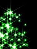 green stars Στοκ φωτογραφία με δικαίωμα ελεύθερης χρήσης