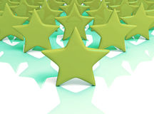 Green stars massive Stock Images