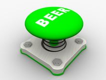 Green start button Royalty Free Stock Images