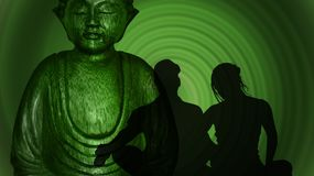 Green, Statue, Organism, Fictional Character Stock Photography