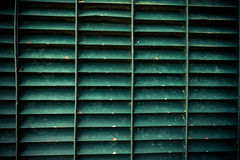 Green steel grating texture Royalty Free Stock Photography