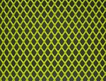 Green steel grid Stock Photo