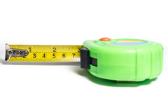 Green Steel Tape Stock Photography