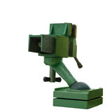 Green steel vise Stock Images