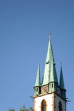 Green steeple Stock Image