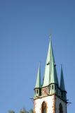 Green steeple Stock Image