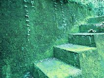 Green Steps Royalty Free Stock Images