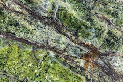 Green stone surface Royalty Free Stock Images
