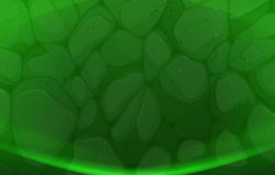 A green stonewall background Royalty Free Stock Images