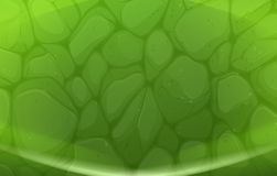 A green stonewall. Illustration of a green stonewall Royalty Free Stock Photography