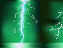 Green storm Royalty Free Stock Image