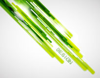 Green straight lines background. Vector abstract background. Green shiny lines royalty free illustration