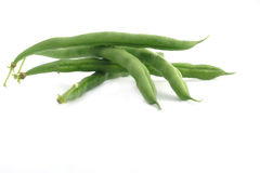 Green string beans Royalty Free Stock Images