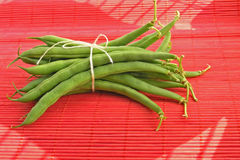 Green string beans Stock Photo