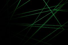 Lasers Fade royalty free stock photography
