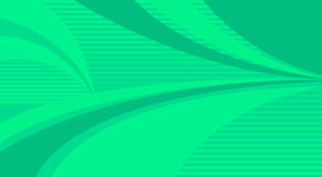 Green stripe background and curves Stock Photo