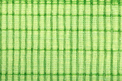 Green stripe fabric texture Royalty Free Stock Photography