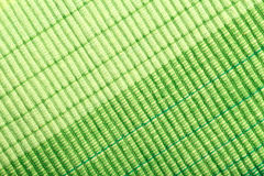 Green stripe fabric texture Stock Photography