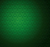Green Stripe Seamless Wallpaper. Royalty Free Stock Images