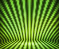 Green Striped Background Show Room Stock Images
