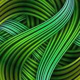 Green striped background. Stock Photos