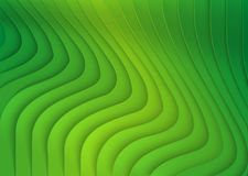 Green Striped 3D Texture. Background Illustration, Vector royalty free illustration