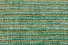 Green striped fabric background Royalty Free Stock Images