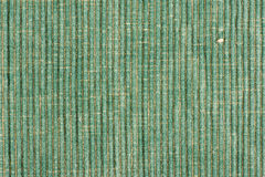 Green striped fabric background Stock Photos