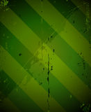 Green striped grunge military texture Stock Images
