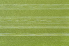 Green striped imitation leather background texture Stock Photos