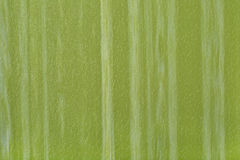 Green striped imitation leather background texture Royalty Free Stock Photography