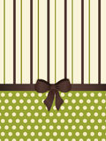 Green striped retro background Royalty Free Stock Images