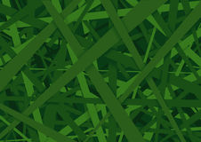 Green Striped Texture Background Stock Photography