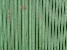 Green striped texture Stock Photography
