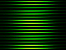 Green stripes. Over  black background . abstract illustration Stock Photo