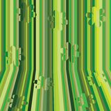 Green stripes Royalty Free Stock Image
