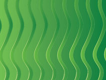 Green Stripes Royalty Free Stock Photography